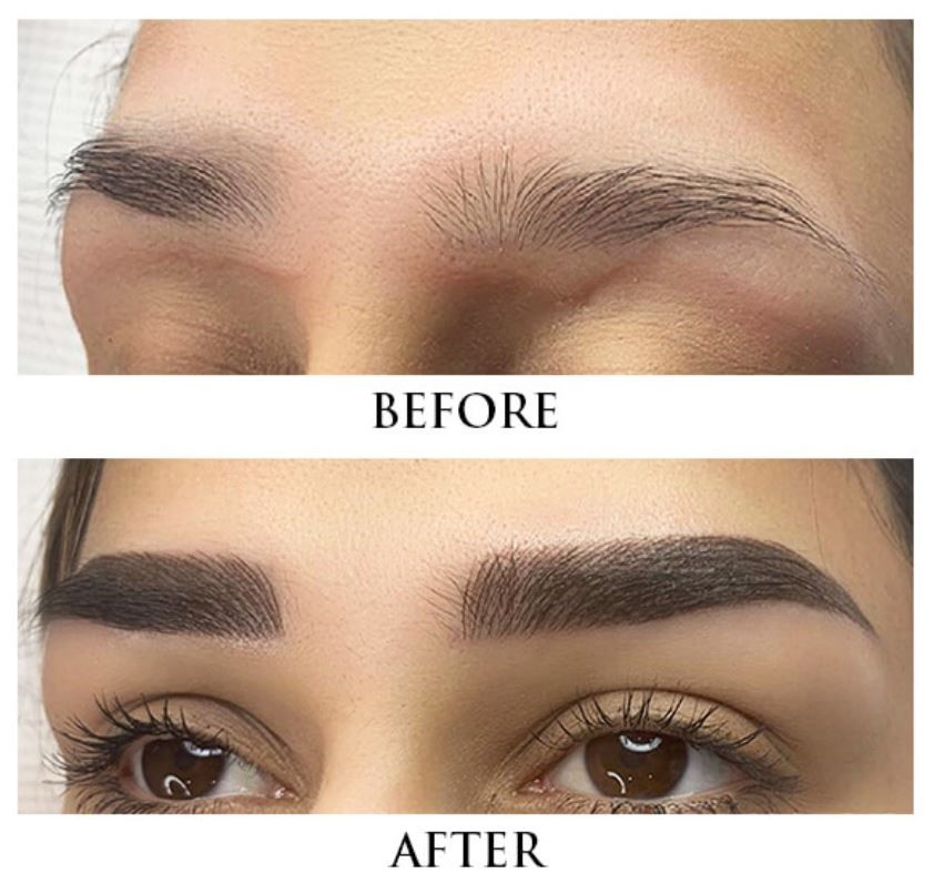 Aftercare of Microblading